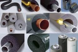 Материалы для утепления труб