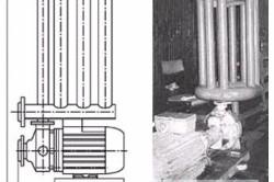 Схема вихревого теплогенератора «МУСТ».