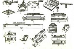 Инструменты для штукатурки печей