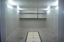 Отделка стен гаража