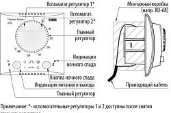 Схема механического терморегулятора.