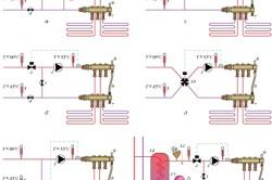 Схема отопительных контуров