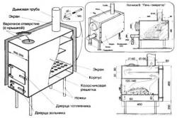Прежде чем начать сооружать печь, необходимо создать чертеж.