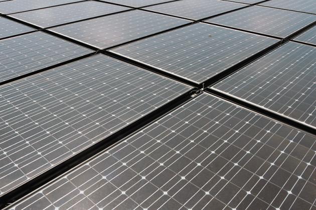 Рис. 1. Пример готовой солнечной батареи