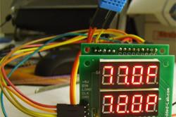 В печь можно встроить датчик регулировки и измерения температуры.