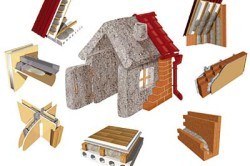 Применение эковаты и каменной ваты для утепления загородного дома.