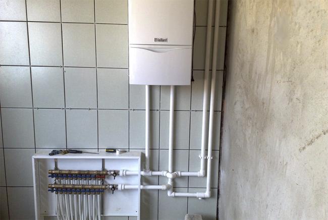 Теплый пол водяной своими руками в квартире от газового котла 10
