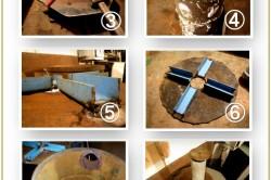 Этапы изготовления печи из бочки