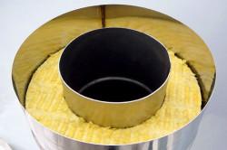 Утепление металлической трубы