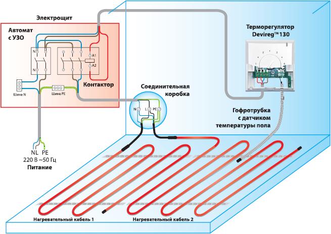 Shema-podkljuchenija-termoreguljatora